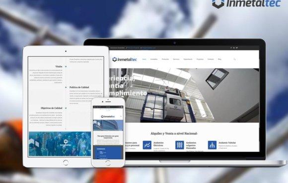 Inmetaltec – marca – web
